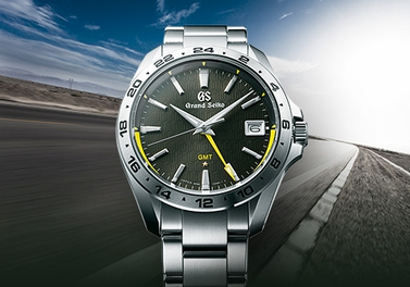 """""""Grand Seiko Sport Collection Calibre 9F86 Quartz GMT"""" special page is now available."""