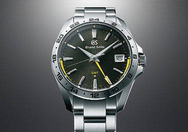 The first ever Grand Seiko 9F quartz GMT calibre