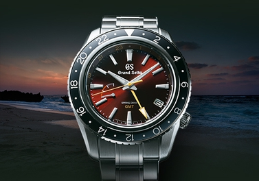 """Grand Seiko Sport Collection SPRING DRIVE GMT Limited Edition"" special page is now available."
