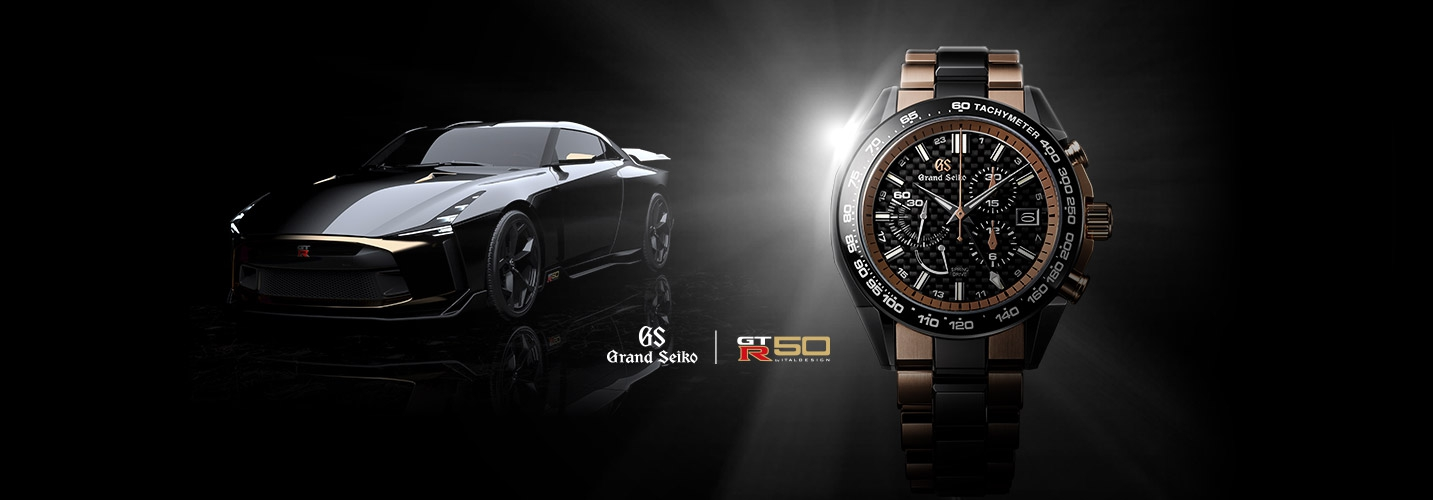 Grand Seiko Sport Collection Spring Drive Chronograph GMT カスタムメイドモデル