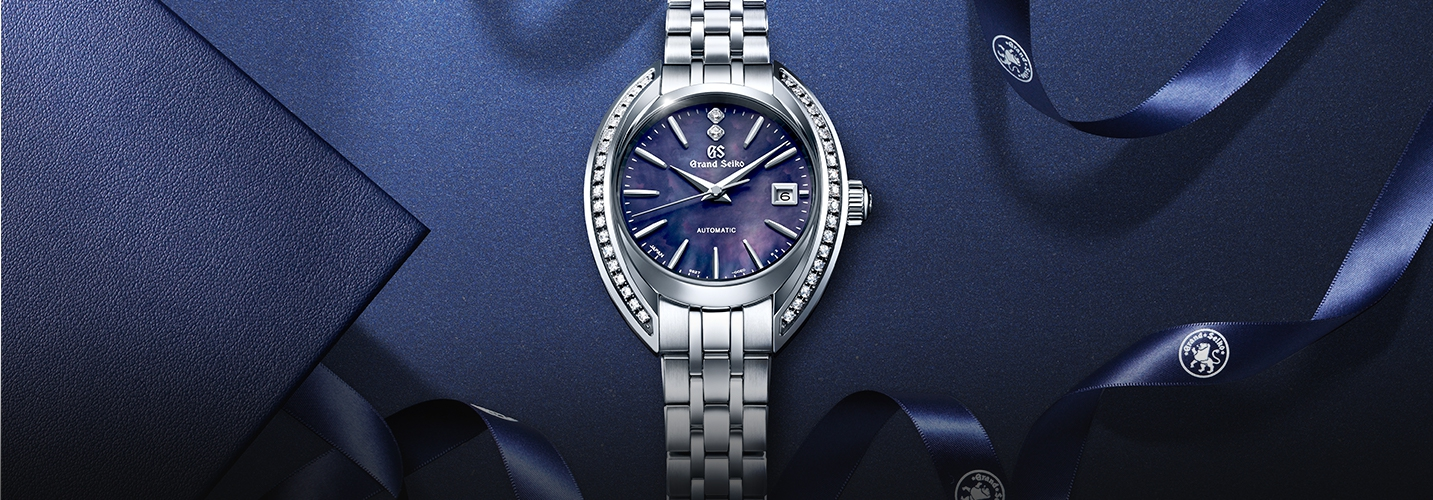 A women's mechanical creation with all the natural elegance of Grand Seiko