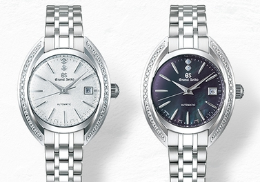 """A women's mechanical creation with all the natural elegance of Grand Seiko"" special page is now available."