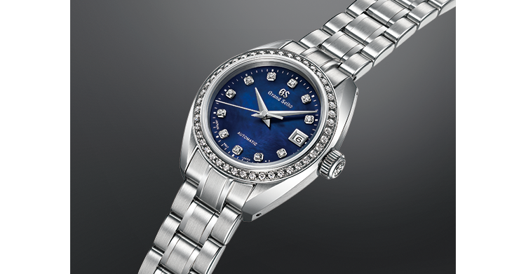 Diamonds, mother-of-pearl and a slim profile
