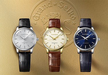 The 60th anniversary of Grand Seiko is marked by the re-creation of the 1960 original