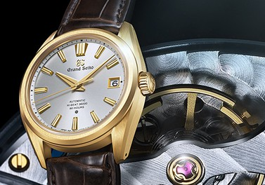 """Grand Seiko 60th Anniversary Limited Edition"" special page is now available."