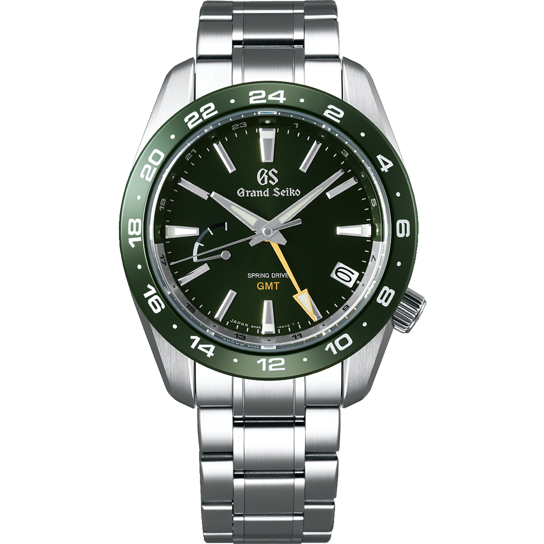 SBGE257 Grand Seiko Green Dial Spring Drive GMT 40.5mm